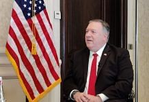 US Secretary of State Mike Pompeo in New Delhi Tuesday | Photo: Sajid Ali | ThePrint
