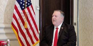 US Secretary of State Mike Pompeo in New Delhi Tuesday | Photo: Sajid Ali | ThePrint