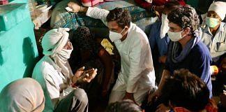 Rahul Gandhi and Priyanka Gandhi meet the victim's family in Hathras | Facebook/rahulgandhi