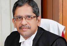File photo of Justice N.V. Ramana | Twitter | @goelgauravbjp