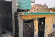 The toilet (extreme left) where Ramrati was kept locked up by her husband Naresh in Rishpur village, Panipat | Photo: Jyoti Yadav | ThePrint