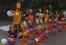 Short Ravan effigies have been the hottest selling item this Dusshera | Shubhangi Misra | ThePrint