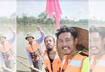 From left: Shekhar Bordoloi, Nayan Bordoloi and Rishan Doley during the expedition   By special arrangement