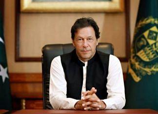 File photo of Pakistan Prime Minster Imran Khan | @ImranKhanOfficial/Twitter