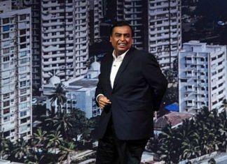 File photo of Reliance Industries chairman Mukesh Ambani | Photo: ANI
