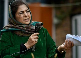 Former J&K chief minister and Peoples Democratic Party (PDP) President Mehbooba Mufti | PTI file