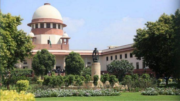 File photo of the Supreme Court of India   Manisha Mondal   ThePrint