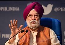File image of Union minister Hardeep Singh Puri | Photo: Vijay Verma | PTI