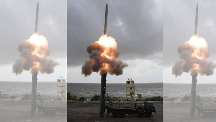 Supersonic Missile Assisted Release of Torpedo (SMART) successfully flight tested on Monday from Wheeler Island off the coast of Odisha | ANI | Twitter