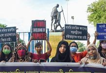 Representational Image | Women in Kolkata protest violent crimes against women | PTI