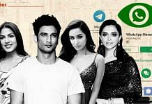 Purported WhatsApp chats of actors Rhea Chakraborty, Sushant Singh Rajput, Shraddha Kapoor and Deepika Padukone have found their way into the public space over the past few weeks   ThePrint
