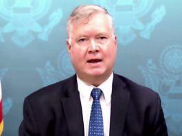 US Deputy Secretary of State Stephen E Biegun   Twitter @StateIRF