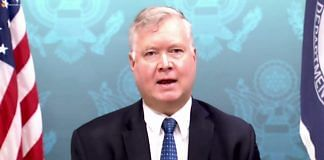 US Deputy Secretary of State Stephen E Biegun | Twitter @StateIRF