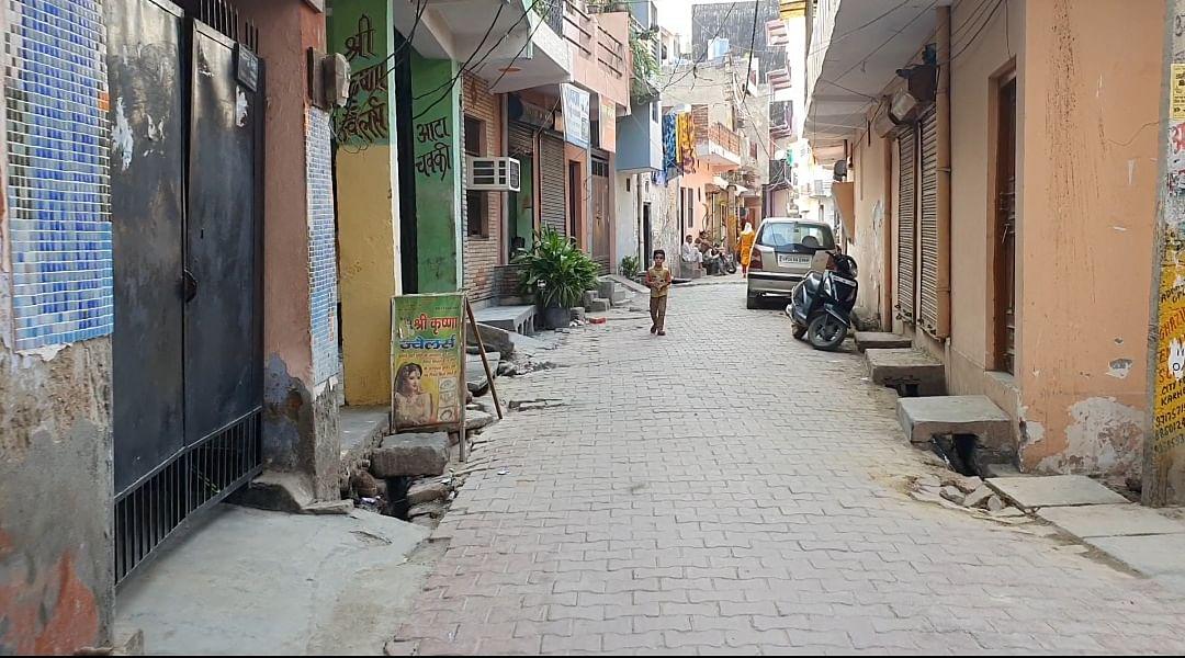 The Chauhan locality in the village | Photo: Soniya Agarwal | ThePrint