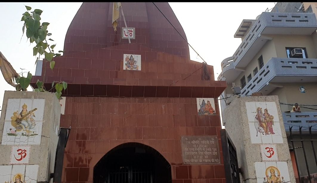 The Chauhan temple that the Valmikis are not allowed to enter | Photo: Soniya Agarwal | ThePrint