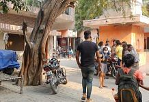 Visitors stream into Karera village Thursday | Photo: Soniya Agarwal | ThePrint