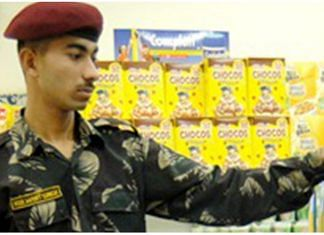 Representational Image of a soldier in one of the canteen stores department | http://www.csdindia.gov.in/