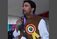 File photo of J&K Pradesh Congress Committee President Ghulam Ahmad Mir | Twitter (@GAMIR_INC)