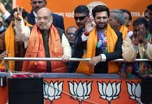 A file photo of Home Minister and BJP leader Amit Shah and LJP chief Chirag Paswan. | Photo: ANI
