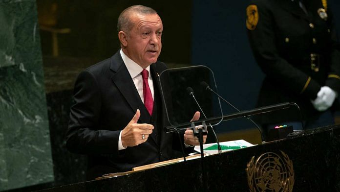 A file photo of Turkey President Recep Tayyip Erdogan. | Photo: Jeenah Moon/Bloomberg