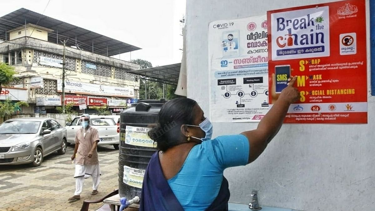 Kerala is now focussing on the 'Break the Chain' and the 'SMS' campaigns. | Photo: Praveen Jain/ThePrint