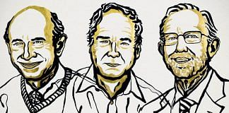 Illustration of Harvey J. Alter, Michael Houghton and and Charles M. Rice