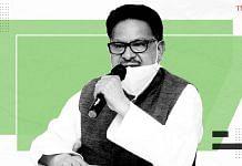Congress national general secretary and Rajya Sabha MP P.L. Punia. | Photo: Ramandeep Kaur/ThePrint