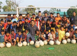 A photo from the NRL Football Academy of Assam | Facebook