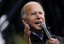 President-elect Joe Biden speaks at an event on November 01, 2020 in Philadelphia. | Photographer: Drew Angerer | Getty Images North America via Bloomberg