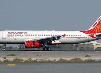 Representational image of an Air India plane | Photo: Commons