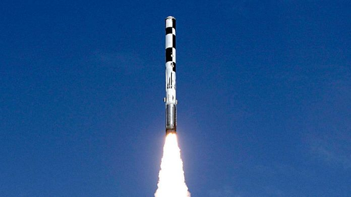 BrahMos supersonic cruise missile | File photo: ANI