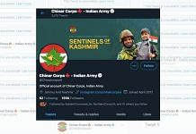 Chinar Corps of the Indian Army takes care of operations in Kashmir and at the Line of Control | Twitter