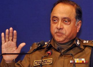 File photo   Former Police Commissioner of Delhi, Neeraj Kumar   ThePrint