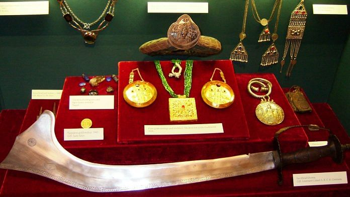 Display at the Gurkha Museum in Nepal | Wikimedia Commons