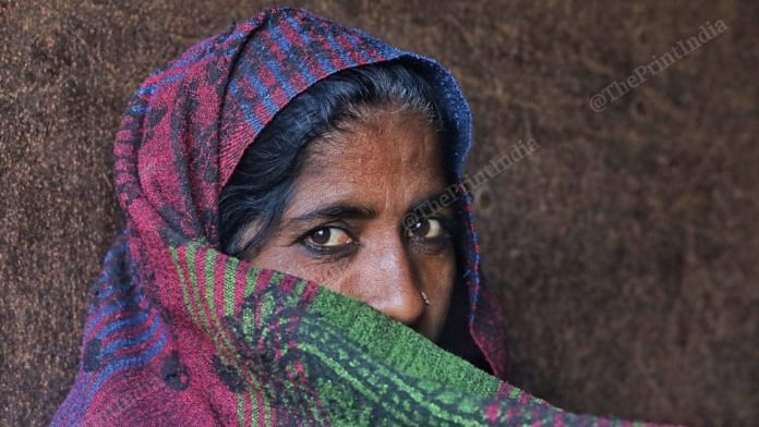 The women are as resolute as their male counterparts. Many have said they will not move until the government hear their pleas to revoke the three contentious laws approved by the Parliament in September | Photo: Manisha Mondal | ThePrint
