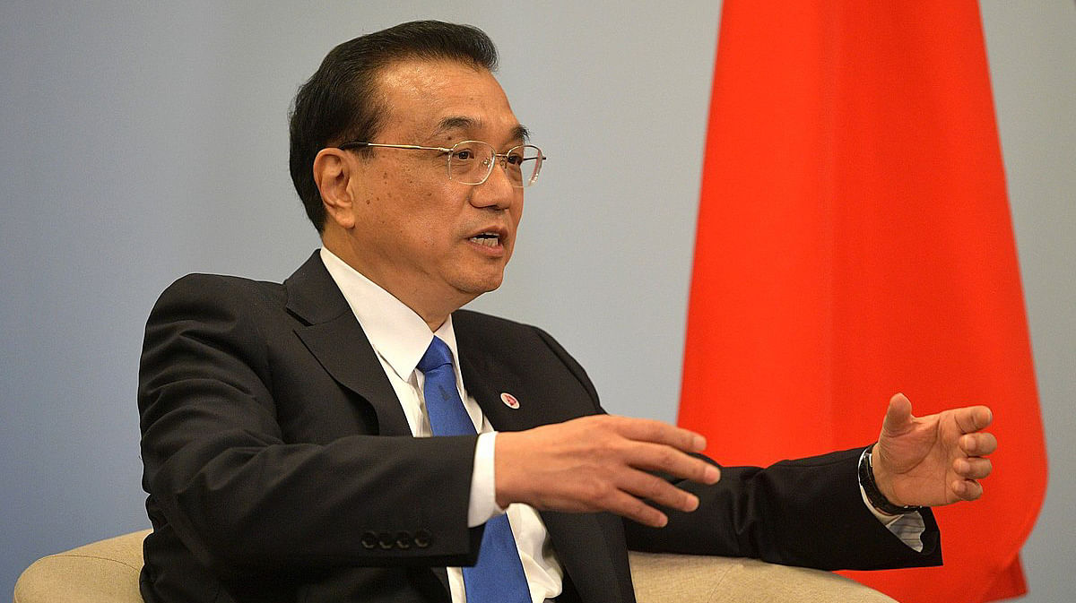 Chinese PM Li indicates strong rebound for economy next year