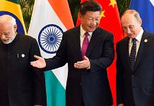 File photo | PM Narendra Modi, China President Xi Jinping, Russian President Vladimir Putin at 2016 G20 Summit | Flickr