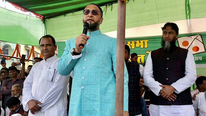 Asaduddin Owaisi's AIMIM fielded 20 candidates in the Bihar assembly elections | Photo: ANI