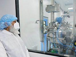 Prime Minister Narendra Modi at the Zydus Biotech Park in Ahmedabad on 28 November | PTI Photo