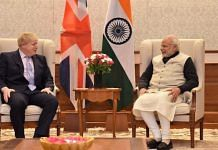 File photo   PM Narendra Modi with his British counterpart Boris Johnson   Photo: @narendramodi   Twitter