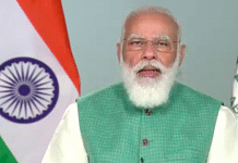 Prime Minister Narendra Modi at the G20 Summit on 'Safeguarding the Planet' | Twitter/@narendramodi