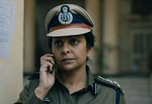 Actor Shefali Shah in a still from the Netflix series 'Delhi Crime' | Twitter | Netflix India