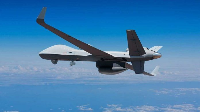 A Sea Guardian drone | Source: General Atomics