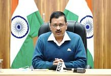 Delhi Chief Minsiter Arvind Kejriwal addresses an online media briefing on Tuesday to seek Centre's permission impose lockdown in markets which may emerge as Covid hotspots   Twitter