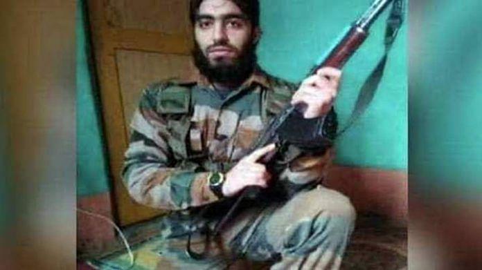 Hizbul Mujahideen militant commander Saifullah Mir | By special arrangement