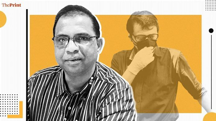 Interior designer Anvay Naik and his mother Kumud died by suicide in 2018, and Republic TV chief Arnab Goswami is among those accussed of abetting it | Image: ThePrint Team