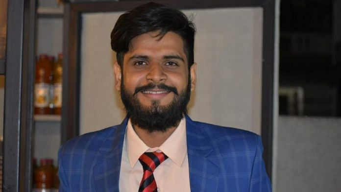 Shubham Yadav, 21, is the first non-Muslim to crack the all-India entrance exam for the Department of Religious studies at Central University of Kashmir | By special arrangement