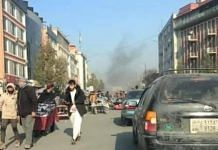 Rockets hit various parts of Kabul on 21 November | Twitter: @TOLOnews