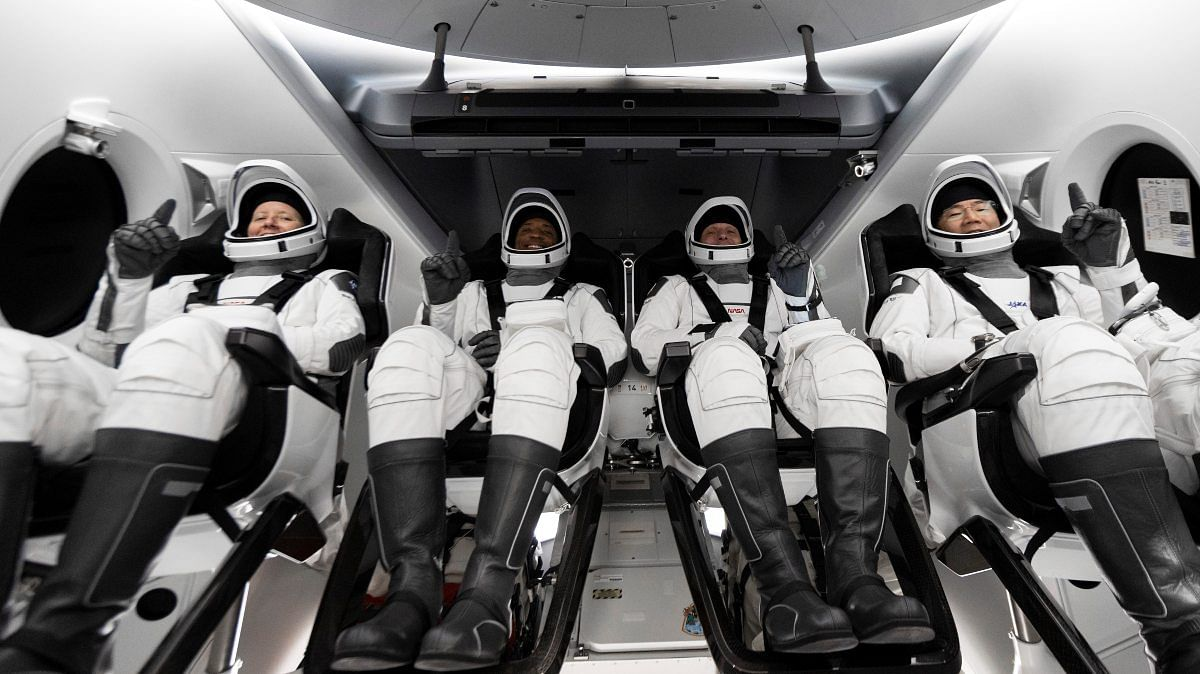 SpaceX, NASA send 4 astronauts to space in milestone flight