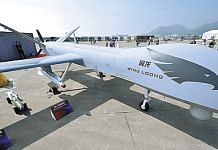 A Chinese Wing Loong drone | Xinhua